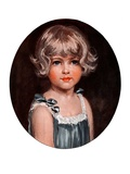 """Little Girl in Blue,""February 7, 1925 Giclee Print by Arthur Garratt"