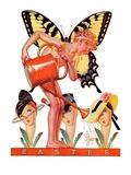 """Easter Fairy,""March 27, 1937 Giclee Print by Joseph Christian Leyendecker"