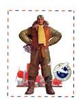 """Airmail Pilot,""December 8, 1934 Giclee Print by John E. Sheridan"