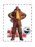 &quot;Airmail Pilot,&quot;December 8, 1934 Giclee Print by John Sheridan