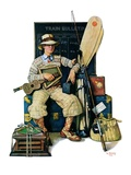 """Going Home from Camp,""August 11, 1928 Giclee Print by Lawrence Toney"