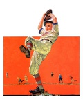 &quot;The Windup,&quot;August 18, 1934 Giclee Print by Eugene Iverd