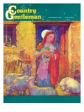 """Sheep in Jerusalem,"" Country Gentleman Cover, December 1, 1941 Giclee Print by Henry Soulen"
