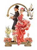 """Easter Promenade,""March 26, 1932 Giclee Print by J.C. Leyendecker"