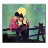"""Full Moon Romance,""October 1, 1934 Giclee Print by Phil Lyford"