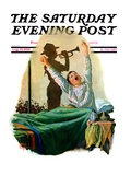 &quot;Reveille,&quot; Saturday Evening Post Cover, August 15, 1931 Reproduction proc&#233;d&#233; gicl&#233;e par Alan Foster