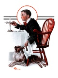 """Table Scraps,""December 15, 1923 Giclee Print by Elbert Mcgran Jackson"