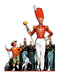"""Joining the Parade,""April 18, 1936 Giclee Print by James C. McKell"