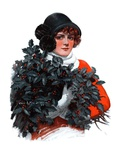 """Holly Bouquet,""December 13, 1924 Giclee Print by Charles A. MacLellan"