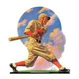 """Baseball Batter,""May 28, 1932 Giclee Print by J.F. Kernan"