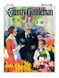 """Buying Flowers for Mother,"" Country Gentleman Cover, May 1, 1930 Giclee Print by Haddon Sundblom"