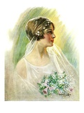 """September Bride,""September 25, 1926 Giclee Print by William Haskell Coffin"