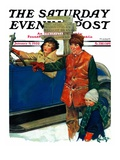 """Asking Directions,"" Saturday Evening Post Cover, January 9, 1932 Giclee Print by Ellen Pyle"