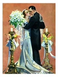 """Bridal Couple Dancing,""June 6, 1931 Giclee Print by Elbert Mcgran Jackson"