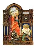"""""""Madonna and Child,""""December 22, 1928 Reproduction procédé giclée par J.C. Leyendecker"""