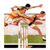 """Hurdlers,""May 4, 1935 Giclee Print by Maurice Bower"