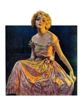 """Golden Ball Gown,""October 23, 1926 Giclee Print by Bradshaw Crandall"