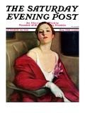 """An Evening Out,"" Saturday Evening Post Cover, October 10, 1931 Giclee Print by Penrhyn Stanlaws"