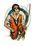 """""""Target Practice,""""October 8, 1927 Giclee Print by Ellen Pyle"""