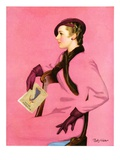 """At the Fashion Show,""February 3, 1934 Giclee Print by Penrhyn Stanlaws"