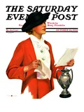 """And the Winner Is,"" Saturday Evening Post Cover, October 25, 1936 Giclee Print by Penrhyn Stanlaws"