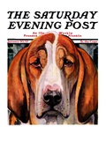 """You Ain't Nothing But a Hounddog,"" Saturday Evening Post Cover, January 30, 1937 Giclee Print by Paul Bransom"