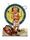 """Baby Pilot,""January 28, 1928 Giclee Print by Ellen Pyle"