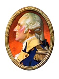 &quot;Washington in Profile,&quot;February 25, 1939 Giclee Print by J.C. Leyendecker