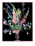 """Flowers in Silver Vase,""April 1, 1931 Giclee Print by Nelson Grofe"