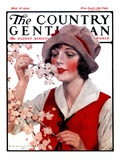 &quot;Tree Blossoms,&quot; Country Gentleman Cover, May 16, 1925 Giclee Print by J. Knowles Hare