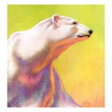 """Polar Bear,""February 1, 1936 Giclee Print by Jack Murray"