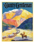 """Westward Ho!,"" Country Gentleman Cover, March 1, 1931 Giclee Print by Frederick Anderson"