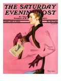 """At the Fashion Show,"" Saturday Evening Post Cover, February 3, 1934 Giclee Print by Penrhyn Stanlaws"