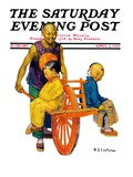 """Chinese Family,"" Saturday Evening Post Cover, April 2, 1927 Giclee Print by Henry Soulen"