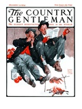 """Hobo Christmas,"" Country Gentleman Cover, December 13, 1924 Giclee Print by William Meade Prince"