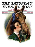 """Blue Ribbon Winner,"" Saturday Evening Post Cover, March 19, 1927 Giclee Print by William Haskell Coffin"