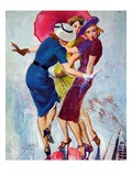 &quot;Splashed,&quot;May 20, 1939 Giclee Print by John LaGatta