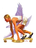 """Eleventh Olympiad,""August 8, 1936 Giclee Print by J.F. Kernan"