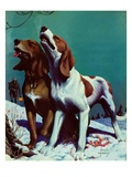 """Hound Dog,""December 9, 1939 Giclee Print by Jack Murray"