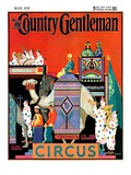 """Circus Parade,"" Country Gentleman Cover, May 1, 1931 Giclee Print by Kraske"