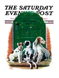 """Faithful Friends,"" Saturday Evening Post Cover, September 14, 1929 Giclee Print by Alan Foster"