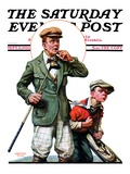 """Hole in One,"" Saturday Evening Post Cover, September 11, 1926 Giclee Print by Lawrence Toney"