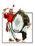 &quot;Grand Military Band,&quot;June 23, 1923 Reproduction proc&#233;d&#233; gicl&#233;e par Angus MacDonall