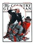 &quot;Civil War Veteran,&quot; Country Gentleman Cover, May 30, 1925 Giclee Print by William Meade Prince