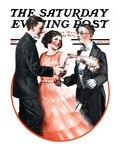 """Cutting In,"" Saturday Evening Post Cover, September 15, 1923 Giclee Print by Alan Foster"