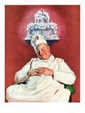 """""""Cake Dream,""""June 11, 1938 Giclee Print by John Newton Howitt"""