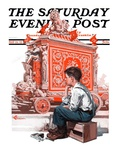 """Circus Calliope,"" Saturday Evening Post Cover, May 23, 1925 Giclee Print by Elbert Mcgran Jackson"