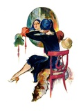 &quot;Hat Shop,&quot;November 30, 1929 Giclee Print by John LaGatta
