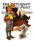 """Report Card,"" Saturday Evening Post Cover, March 25, 1939 Giclee Print by Frances Tipton Hunter"