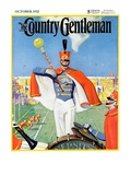 """Drum Major,"" Country Gentleman Cover, October 1, 1932 Giclee Print by Hallman"